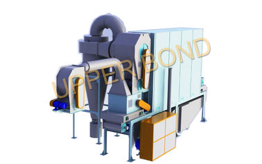 Chiny 200 - 400 Kg/h Hot air Fluidized Cut drier Specification Tobacco Processing Equipment fabryka